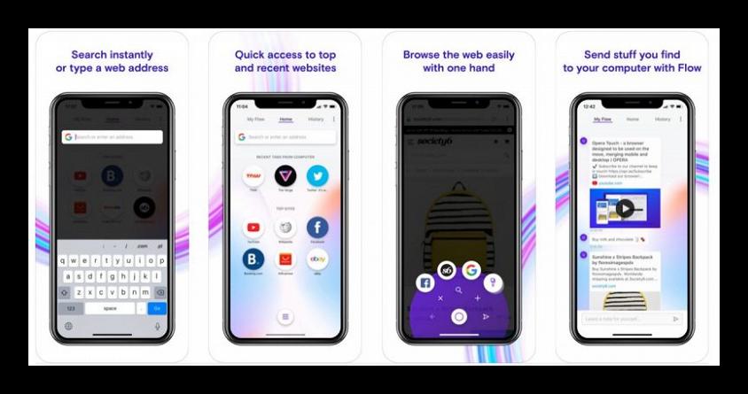 Картинка Opera Touch для iOS