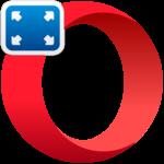 Полноэкранный режим в Opera