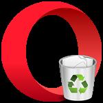 Как удалить Opera c компьютера полностью