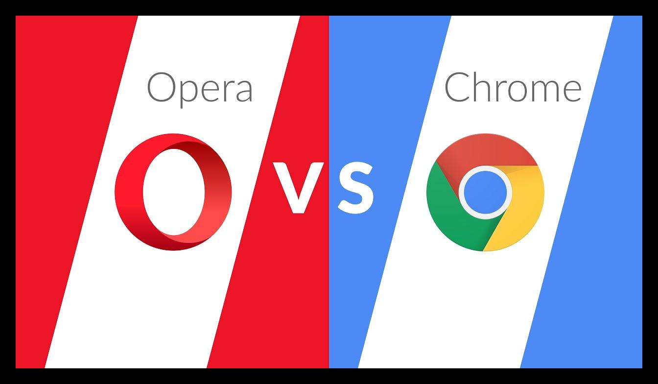 Картинка Что лучше - Opera или Google Chrome
