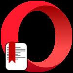 Расширение Bookmarks Import & Export для Opera