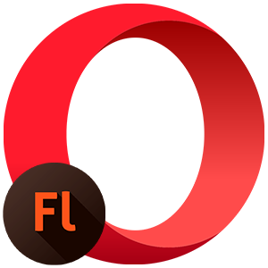 Flash player opera