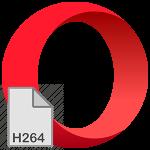 Кодек H.264 для браузера Opera