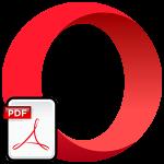 Просмотр PDF-файлов в Opera