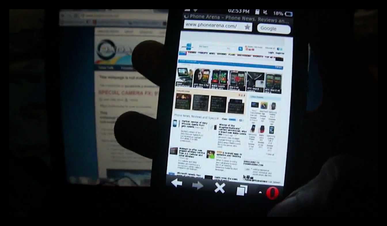 Картинка Opera Mini для Samsung Bada