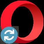 Как обновить браузер Опера