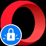 Управление паролями Opera