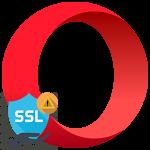 Ошибка SSL в браузере Opera